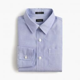 Boys point-collar solid Ludlow shirt