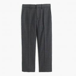 Boys slim Ludlow suit pant in Italian worsted wool