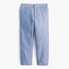 Boys pull-on Ludlow suit pant in Irish linen