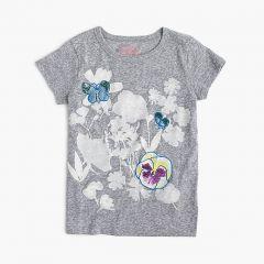 Girls wildflower T-shirt