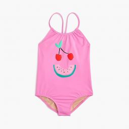 Girls One-Piece Swimsuit In Fruit Face - Girls Swimwear | J.Crew
