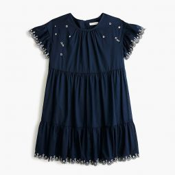 Girls Tiered Dress With Stars - Girls Dresses | J.Crew