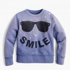 Kids smile sweatshirt