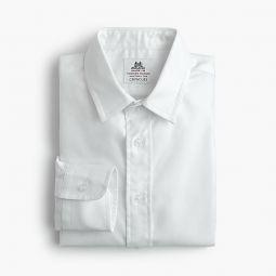 Boys Thomas Mason for crewcuts dress shirt in royal oxford cotton