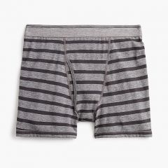 Stretch boxer briefs in stripe