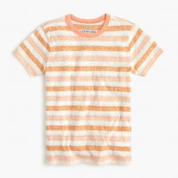 Kids striped tee in the softest jersey