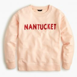 Nantucket crewneck sweatshirt