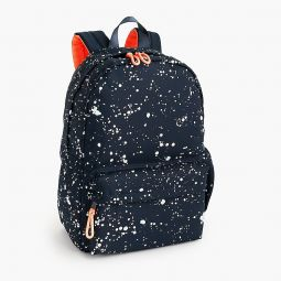 Kids splatter-print backpack