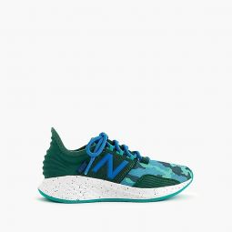Kids New Balance for crewcuts camo Fresh Foam Roav sneakers in larger sizes
