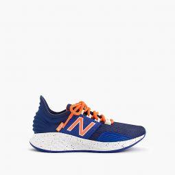 Kids New Balance for crewcuts navy Fresh Foam Roav sneakers in smaller sizes