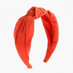 Turban knot headband