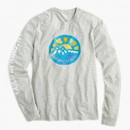 Cold Spring long-sleeve graphic T-shirt