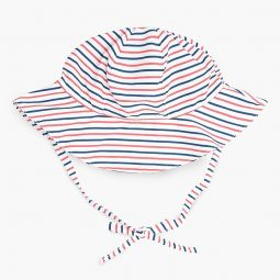 Kids Minnow striped sun hat