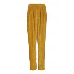 Fany High-Rise Corduroy Straight-Leg Pants
