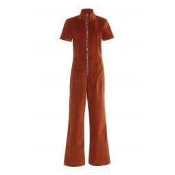 Ziggy Autumn Velvet Jumpsuit