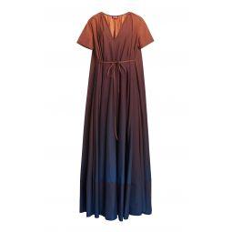 Kinsley Ombre V-neck Maxi Dress