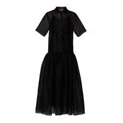 Riley Tropics Button Down Dress