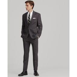 Polo Pin Dot Striped Suit