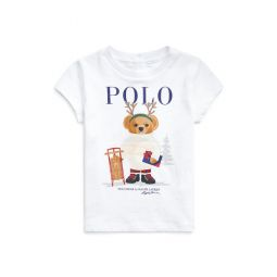 Holiday Gift Bear Graphic Tee
