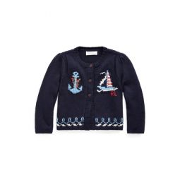 Nautical Cotton Cardigan