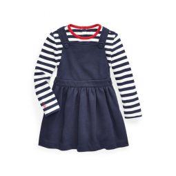 Tee  Overall Dress Set