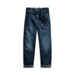 Cotton Denim Paperbag Jean