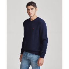 Iconic Cotton Crewneck Sweater
