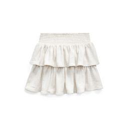 Ruffled Atlantic Terry Skirt