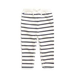 Striped Terry Pull-On Pant