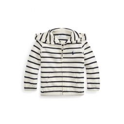 Striped Terry Hoodie