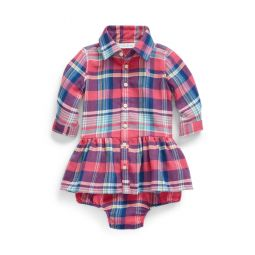 Plaid Shirtdress  Bloomer