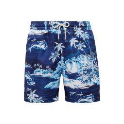 Traveler Tropical Swim Trunk