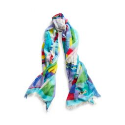 Graphic Sailboat Scarf