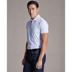 Custom Slim Fit Interlock Polo