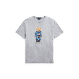 Classic Fit Denim Bear T-Shirt