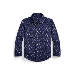 Nautical Seersucker Shirt