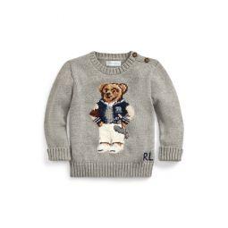 Collegiate Bear Sweater