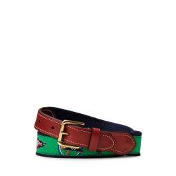 RL-YC Cotton-Leather Belt