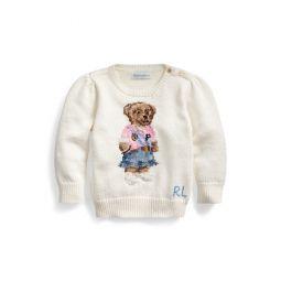 Spring Bear Cotton Sweater
