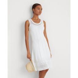 Pointelle Sleeveless Dress