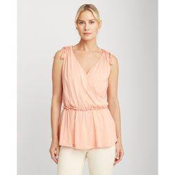 Cotton Jersey Sleeveless Top