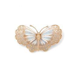 Butterfly Brooch Necklace