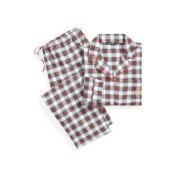 Plaid Cotton Sleep Set