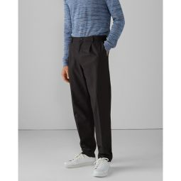 Pleated Tencel Cotton Pants
