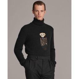 Polo Bear Cashmere Turtleneck Sweater