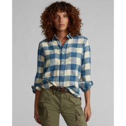Cotton-Linen Twill Workshirt
