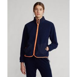 Fleece Zip-Up Golf Jacket