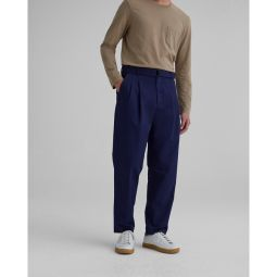 Belted Pleated Trousers