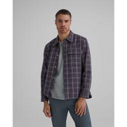 Windowpane Shirt Jacket