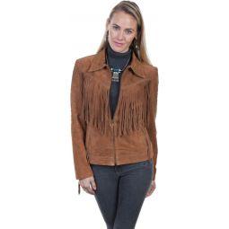 Studded Fringe Jacket L739